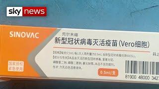 Coronavirus: Unproven COVID-19 vaccine made available in China
