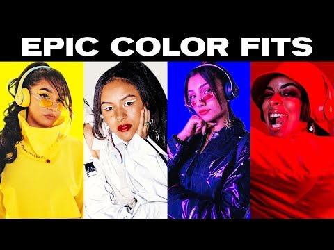 Colour Matching Streetwear Looks To Beats By Dr. Dre! ~ NAYVA Ep #31 ~ FASHION & BEAUTY