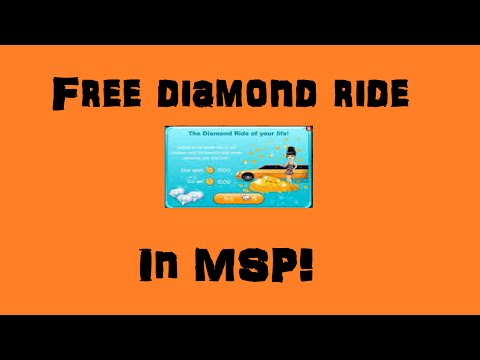 How to do FREE diamond ride in MSP!