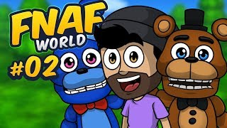 RECLUTANDO A GOLDEN FREDDY Y PUPPET | FNaF World #2