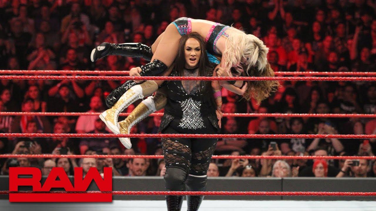 Bliss & James vs. Jax & Tamina - WWE Women's Tag Team Title Qualifying Match: Raw, Jan.