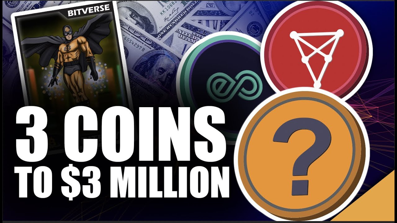 Top 3 Coins To $3 Million (NFT Picks To Become Millionaire)