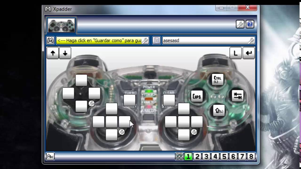 xpadder imagenes de mandos