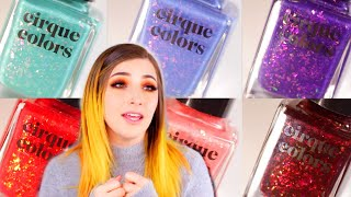 Cirque Colors Candy Coat Nail Polish Collection Swatch and Review|| KELLI MARISSA