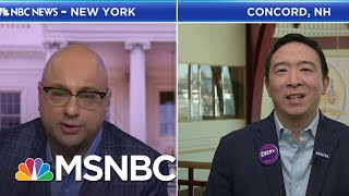 "Yang: ""We Need To Humanize This Economy"" 