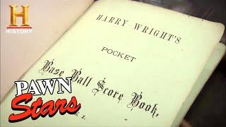 Pawn Stars: Harry Wright 1878 Baseball Scorecard (Season 8) | History