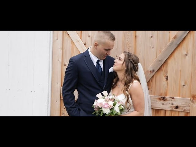 Faith and Hunter Hermans wedding video
