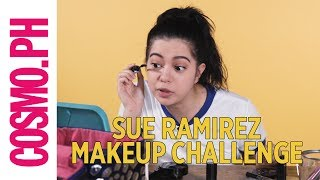 Sue Ramirez 5-minute Makeup Challenge