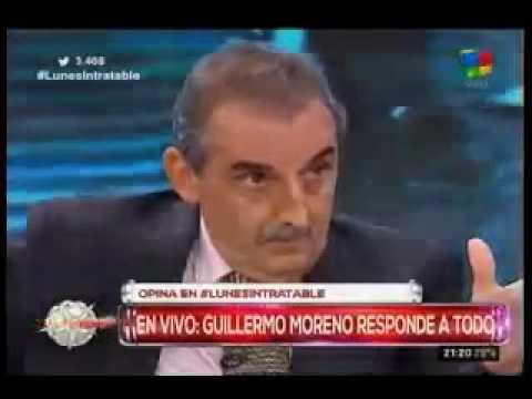 Guillermo Moreno en Intratables