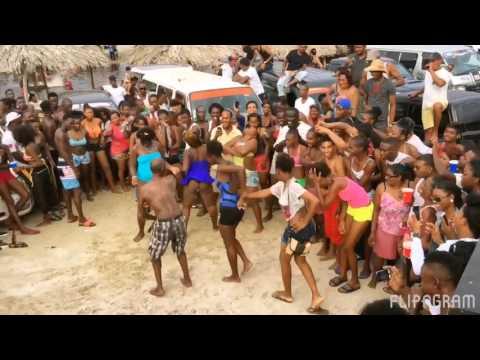 Joker car mad up Guyana creek #extreme_car