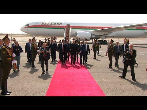 Лукашенко прибыл в Ереван для участия в саммите ОДКБ