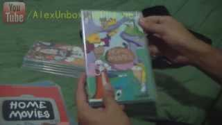 Unboxing Home Movies 10th Anniversery DVD box set