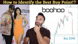 Boohoo Stock Technical Analysis, How To Identify Buy Points?   Candle Stick Charts Real Time!