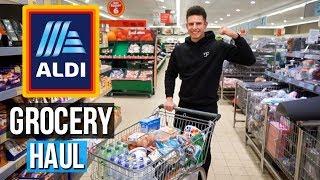 HUGE Aldi Grocery Haul | Bodybuilding On A Budget UK