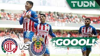 ¡Apareció la 'Chofis'! Para empatar | Toluca 1 - 1 Guadalajara | Liga MX - AP 2019  - J 17 | TUDN