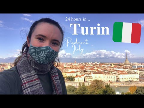 24 hours in TURIN - Italy Travel Vlog