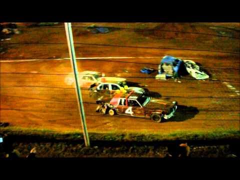 demolition derby 10-26-13 @ Tri-county racetrack
