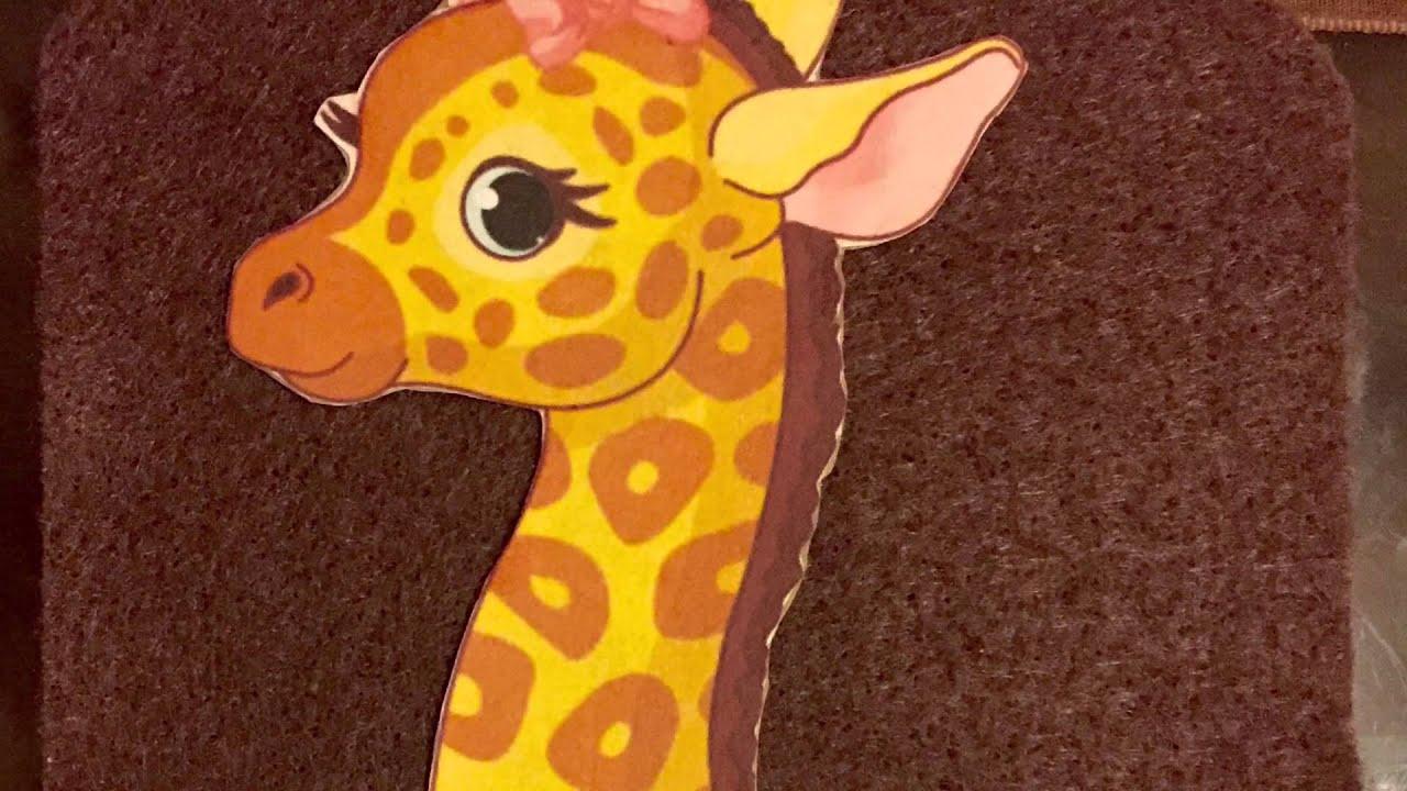 Manualidades letras de jirafa para cumplea os youtube - Manualidades para cumpleanos ...