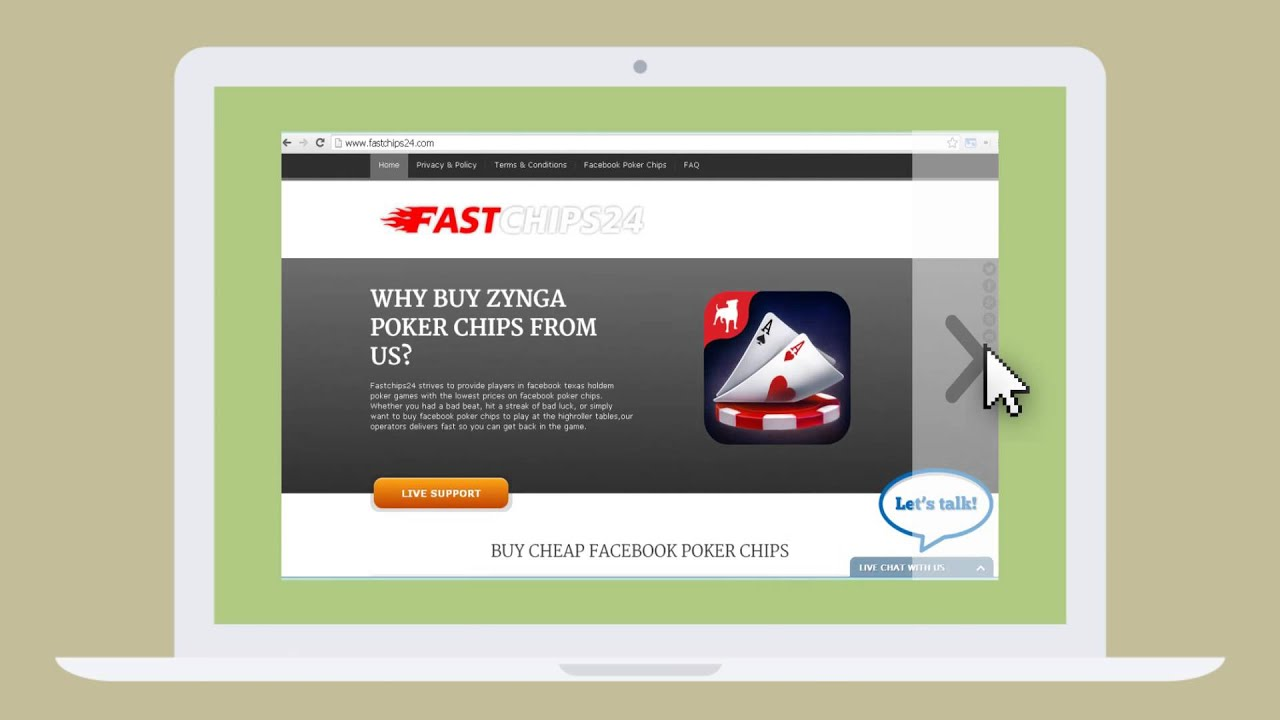 Buy facebook poker chips zynga best internet casino usa