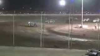 Imperial Valley Speedway Modified Heat Race 3-8-14