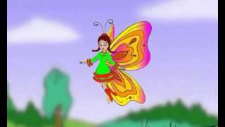 Ребёнок и бабочка
