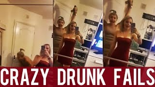 Crazy Drunk Fails || New Funny Compilation! || Drunk People Fails! || Year 2018!