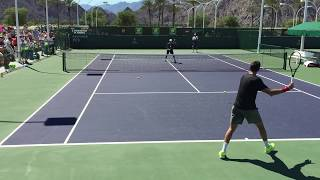 Juan Martin Del Potro Indian Wells 2015 BNP Paribas Open 3/14/15 Practice