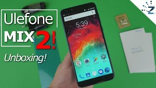 Ulefone Mix 2 unboxing, hands on, first impressions! 9% off inside! Ulefone Mix 2 Review soon!!