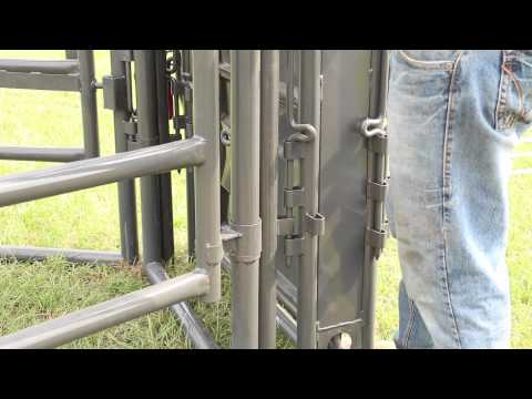 How To Install A Sheeted Adjustable Alley Gate To A Sweep Tub