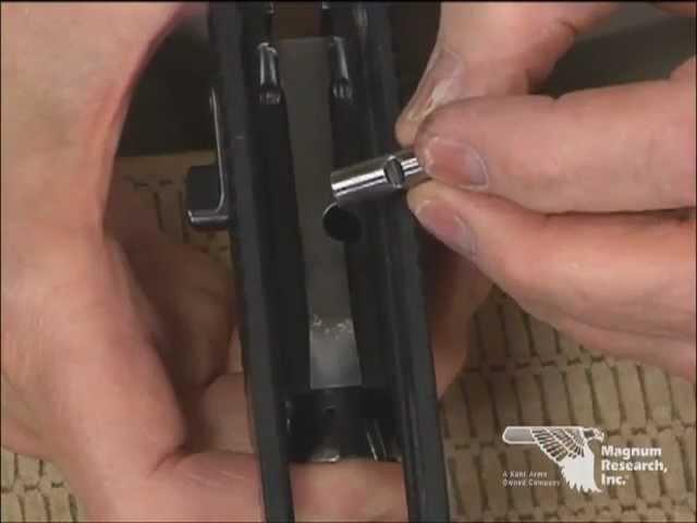 Desert Eagle Video Operation Manual: 9. Slide Reassembly