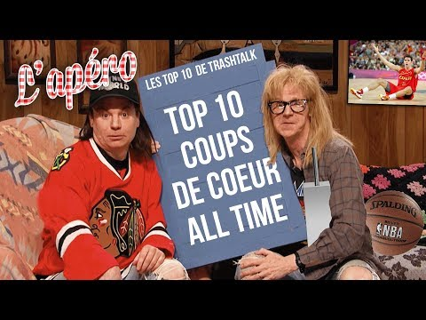 Top 10 coups de coeur All-Time