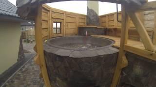 Чан. Купание в чане Луцк. Купить чан чугунный для бани. Чугунный котел.(, 2013-12-01T20:02:43.000Z)