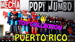 MAZINGER Z JUMBO POPY MECHA COLLECTION SHOGUN WARRIORS CARLITOS RAMIREZ TELEMUNDO COLECCIÓN JUGUETES