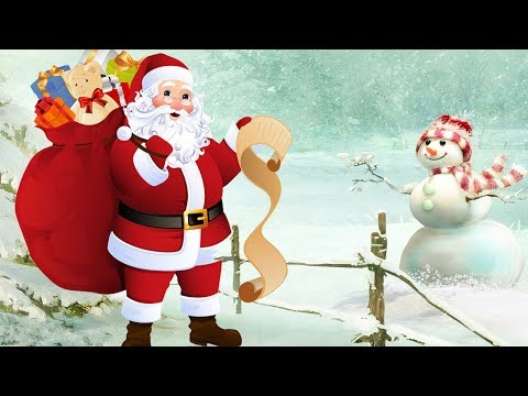 Top 10 Best Christmas Carols & Songs Of All Times-Animated Christmas Music For Kids - Christmas 2017