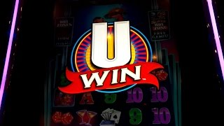 Winner Winner Chicken Dinner Slot *RARE* U-Win Mini-Game & *BIG WIN RETRIGGER* Bonus!(Winner Winner Chicken Dinner slot by Bally is a