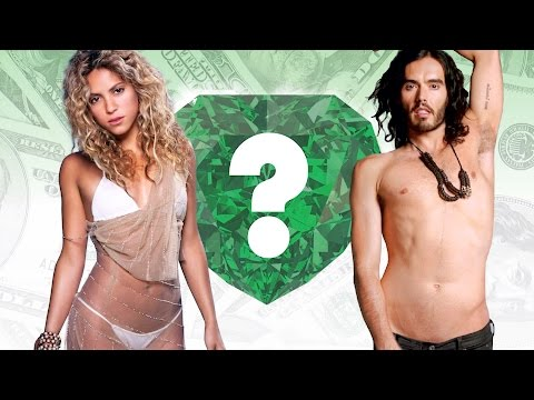 WHO'S RICHER? - Shakira or Russell...