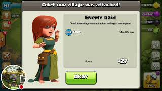STRANGEST THINGS HAPPEN IN CLASH OF CLANS ........BEST PLAYERS AND BEST CLANS EVER