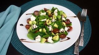 """Салат с авокадо и сыром """"Филадельфия"""""""