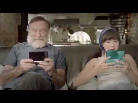 Legend of Zelda Four Swords Commercial 3DS with Robin Williams and Zelda Williams