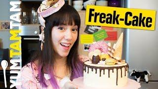 Freak-Cake // Verrückt dekorierter Kuchen // #yumtamtam