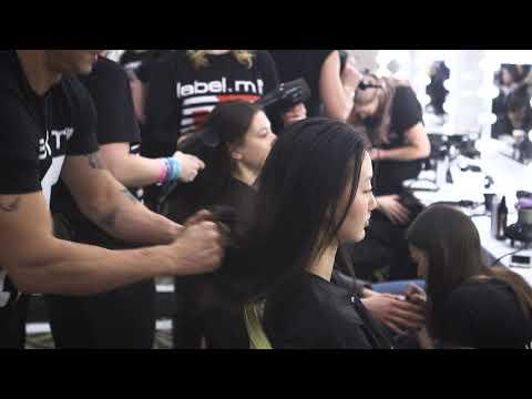 Catwalk Hair: for Paul Costelloe London Fashion Week AW18