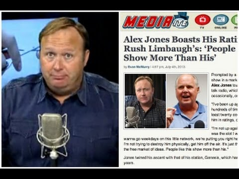 Alex Jones Explodes Over Mediaite Article: