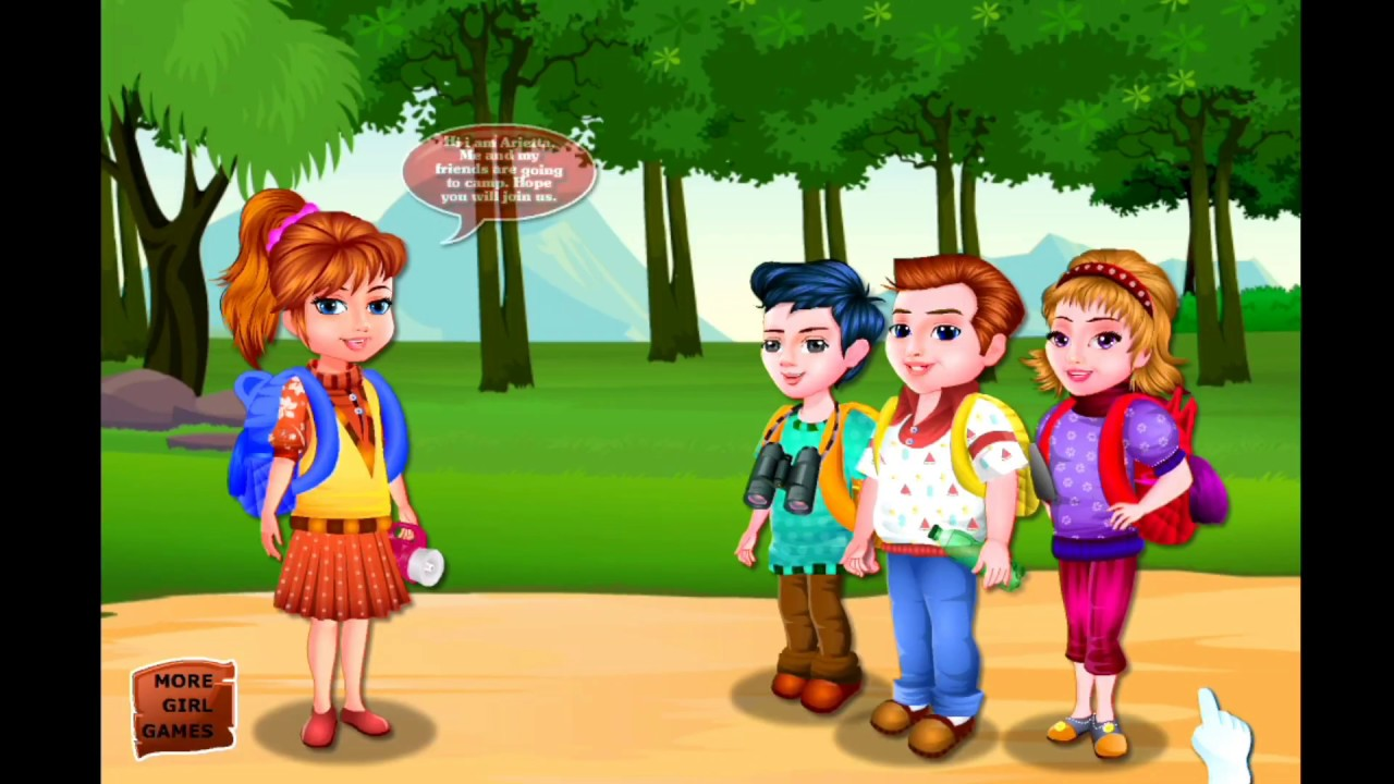arietta s crazy team camping game crazy kid games best android