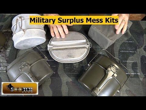 Military Surplus Mess Kit Comparison