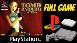Tomb Raider 2: Starring Lara Croft (PS1) Gameplay Walkthrough 100% All Secrets NO COMMENTARY