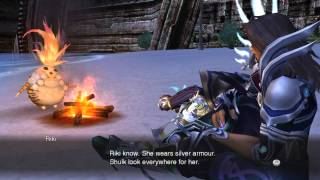 Xenoblade Chronicles HD Cutscene 096c - Advice from Riki - ENGLISH