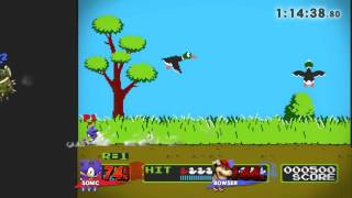 Smash 4   UA vs SHS Crew Battle Rudy(Sonic) vs BOWN(Bowser)
