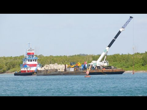 St. Lucie County Installing Artificial Reef Inside Fort Pierce Inlet