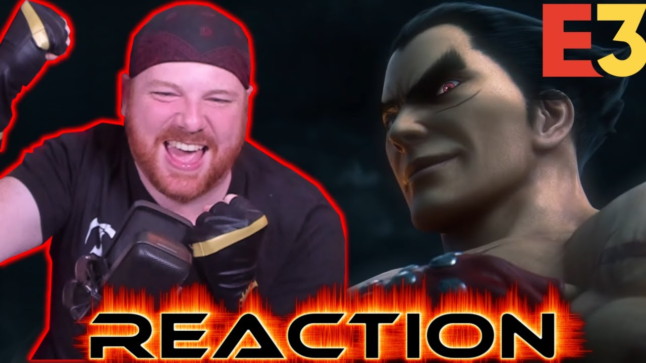 Krimson KB Reacts: Kazuya Mishima Smash Bros. Ultimate X Tekken Reveal | Nintendo E3 2021