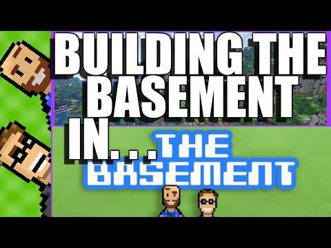 BUILDING THE BASEMENT  Minecraft 2-Player SPLIT SCREEN Co-Op!(Nintendo Switch)Part 22 The Basement